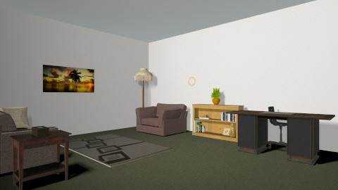 Therapist office - Minimal - Office  - by ssadighim