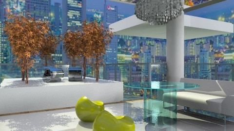 2050 Patio - Modern - Garden  - by Baustin