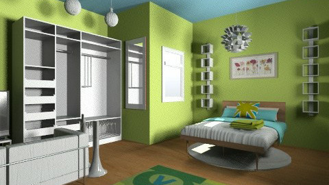 Dream Teen Room - Glamour - Bedroom  - by becreattive