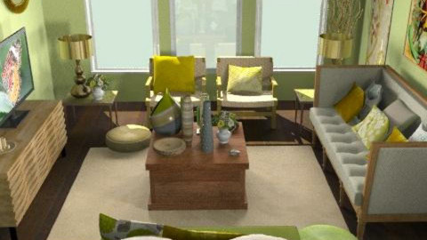 NaturaLiving - Country - Living room  - by camilla_saurus