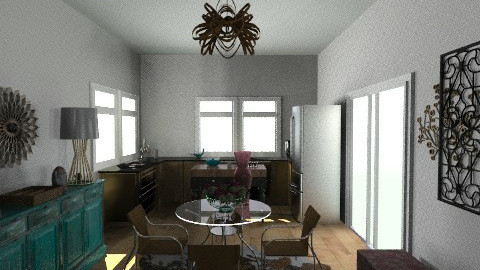 Kitchen - Eclectic - Kitchen  - by nonacr267