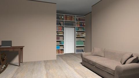 brown - Rustic - Bedroom  - by melodyhardman