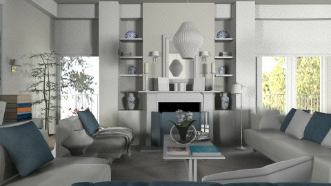 bl - Living room  - by annasig