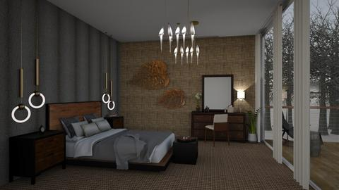 StormyBedroom - Bedroom  - by MyDesignIdeas