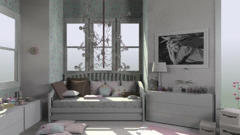 my bedroom in dreams - Vintage - Bedroom  - by bia_freitas