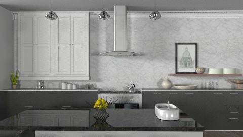 Random Spaces - Toronto Kitchen 2 - Modern - Kitchen  - by LizyD