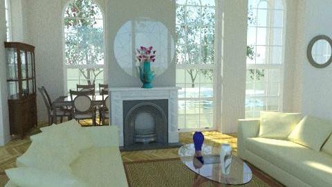 Living Area  - Classic - Living room  - by ioanavladut7