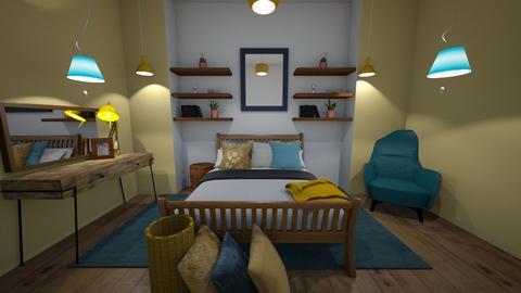 Bedroom LOOK - Retro - Bedroom  - by deleted_1623825262_Lulu12345678910
