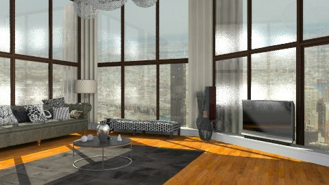 LuxeLounge - Glamour - Living room  - by camilla_saurus