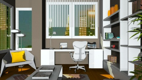 Studious - Modern - Office  - by channing4