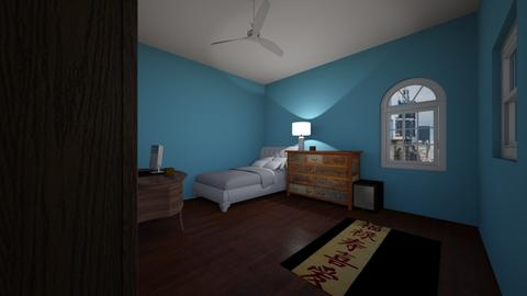 My Room  - Bedroom - by CheeseNugzs2018
