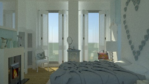 French Crate - Eclectic - Bedroom  - by Carliam