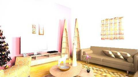 Sala - Retro - Living room  - by Nando17