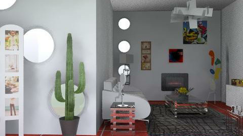 TODO ARTE - Retro - Living room  - by ana2000