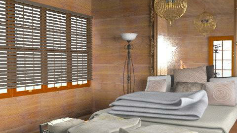 wood east - Eclectic - Bedroom  - by chania