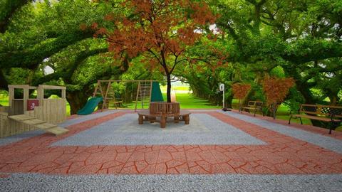 Playground - Garden - by aesthathic_noor