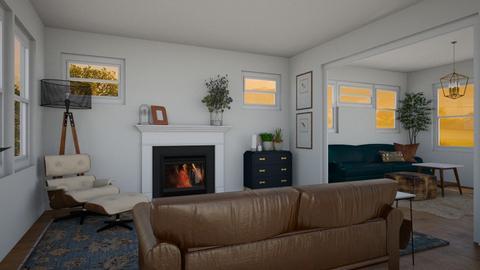 MN Craftsman - Living room  - by lauren_murphy