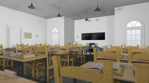 School class - by Aluap