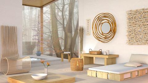 Feng Shui Bedroom - Minimal - Bedroom  - by Sally Simpson
