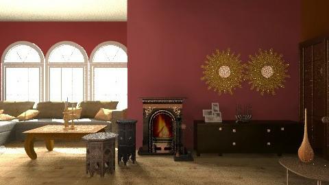 india  - Retro - Living room  - by soniafabris96