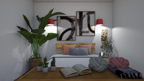Scandi - Minimal - Bedroom  - by Maria Rachel