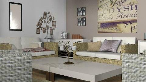 rustic survival - Rustic - Living room  - by designerv