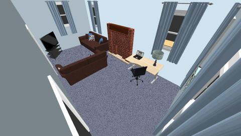 living room  RL - Living room  - by sketchbookdesign