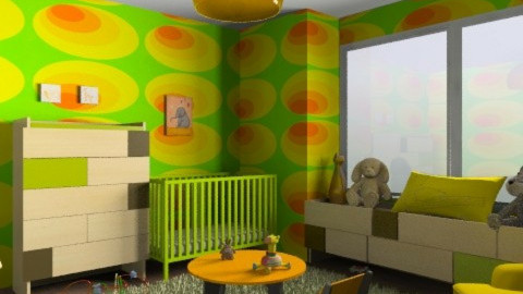 Hip baby! - Modern - Kids room  - by alleypea