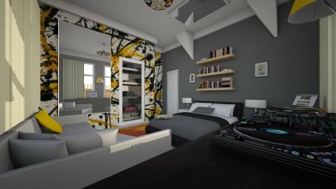 Tsephz in the corner dj - Modern - Bedroom - by Nkanyezi Nhezi Gumede