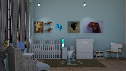 Baby_Boy - Kids room  - by RaeCam