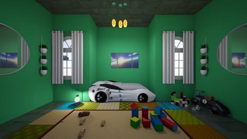 vinny - Kids room  - by vivyanm344