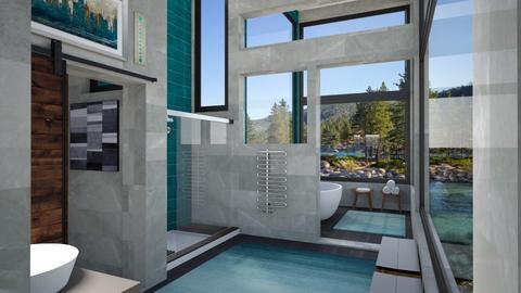 AV Master Bath 1 - Bathroom  - by Amyz625