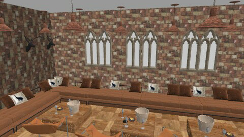 Gothic lounge bar - Eclectic - by cleyenne