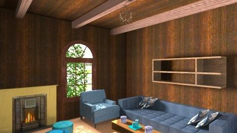 Norwegian Living Room - Rustic - Living room  - by Fernweh