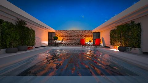 Pool - Garden  - by rosanebpf