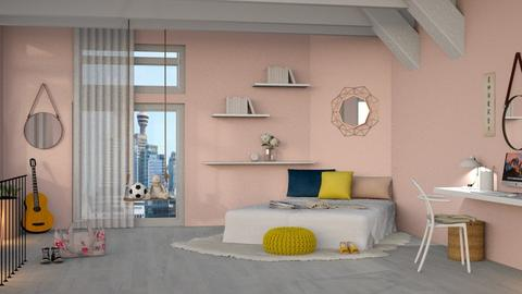 daisy - Modern - Bedroom  - by NEVERQUITDESIGNIT
