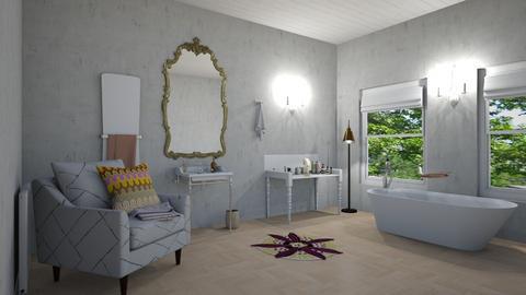 vintage bath - Vintage - Bathroom  - by steker2344