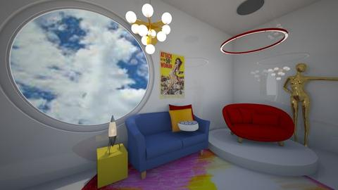 crazy design - Living room - by blackdaisies