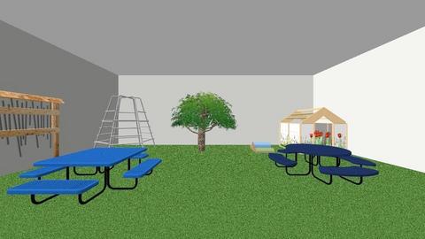 outdoor area - Kids room  - by JDaamen
