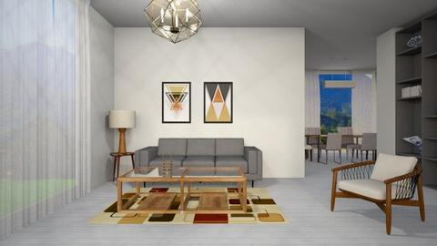 Small House - Modern - Living room - by CitrusSunrise