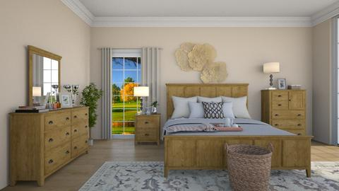soft bedroom 3 - Country - Bedroom - by nuray kalkan