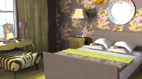 Indulgence in Purple - Classic - Bedroom  - by Dea Richardson