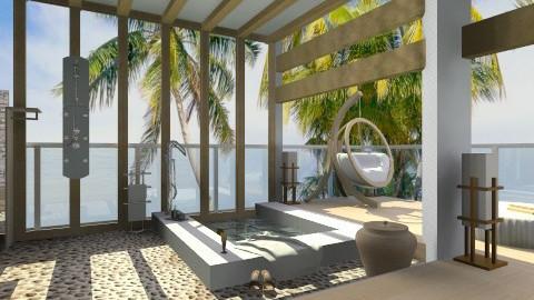Outdoor Bath - Modern - Bathroom - by idna