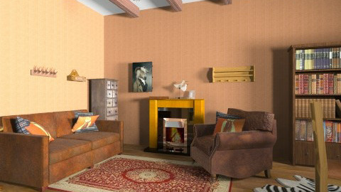 Rustic Living room - Rustic - Living room  - by Karina2