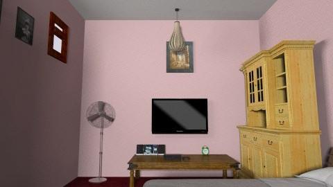 bedroom bro - Rustic - Bedroom  - by sain3m