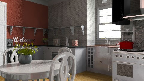 country chic - Country - Kitchen  - by mywishlr