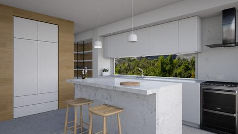 M House - Kitchen - by Valeska Stieg