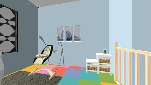 Madeleine Garcia - Modern - Kids room  - by lilg129class