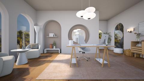 Blurry Office - Office  - by heyfeyt