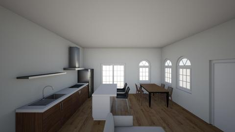 house N1 - Kitchen - by Niva T